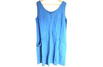 Klänning style 2 Blå