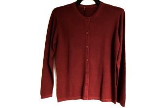 Stickad tröja style 2 Röd